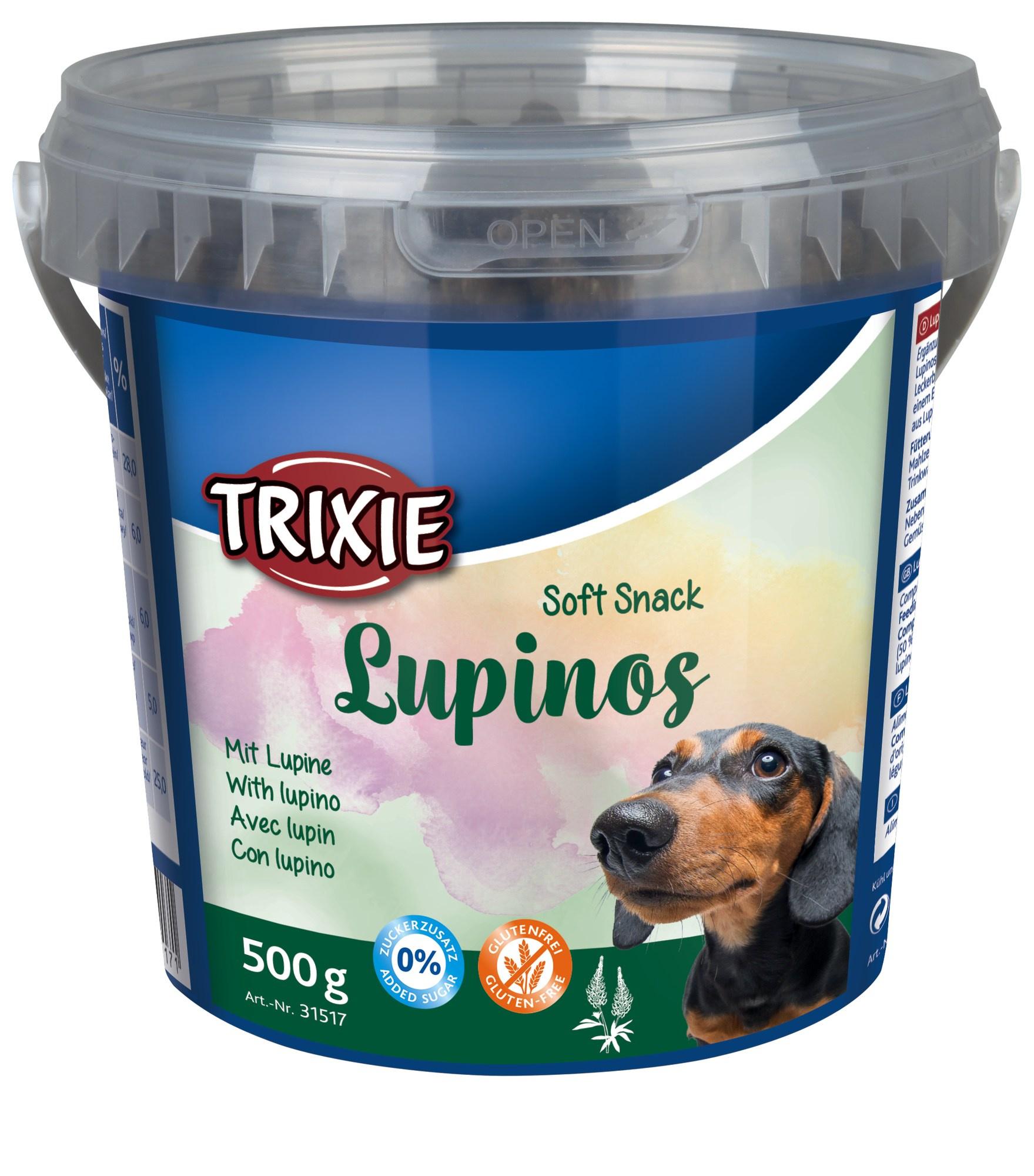 5653463396d74b Vorschau  Trixie Soft Snack Lupinos für Hunde