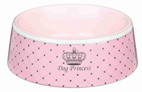 Trixie Dog Princess Keramiknapf, 0,45 l/ø 16 cm, rosa