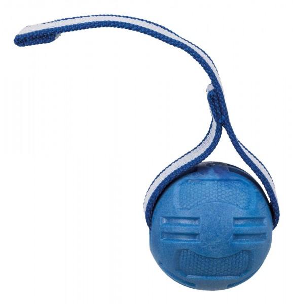 Trixie Sporting Ball für Hunde, mit Gurtband, ø 6 × 20 cm