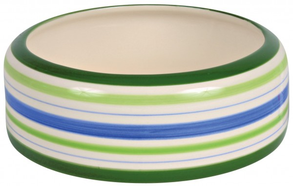 Trixie Keramiknapf, Kaninchen, 500 ml/ø 16 cm, grün/blau/creme