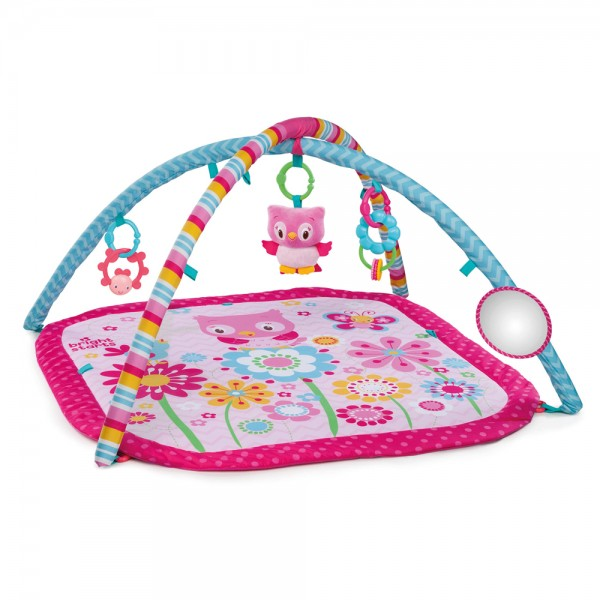 Fancy Flowers Activity Gym Spieldecke, für Babys ab 0+ Monate