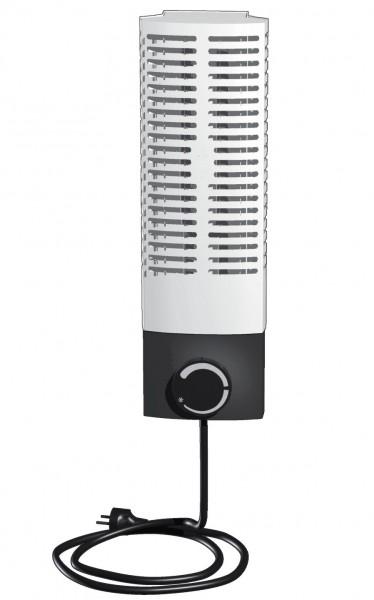 Miniradiator Frostwächter FMS200, Front weiß, 200W, Vertikale Wandmontage
