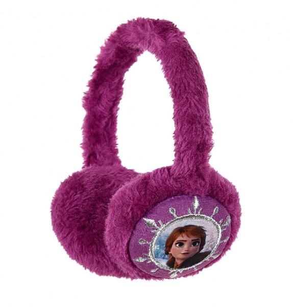 "Disney ""Frozen 2"" Kinder Fleece-Ohrenwärmer mit Anna Elsa Motiv, lila"
