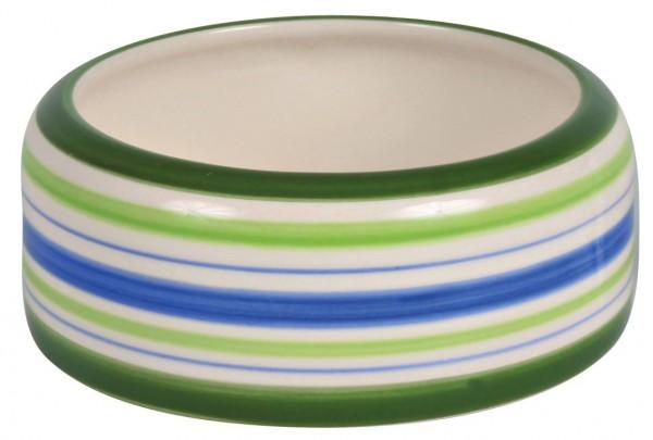 Trixie Keramiknapf, Meerschweinchen, 200 ml/ø 11 cm, grün/blau/creme