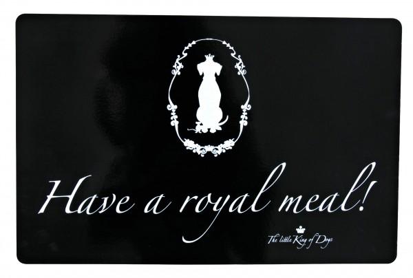 Trixie Hundekönig Napfunterlage - Have a royal meal! - 44x28 cm