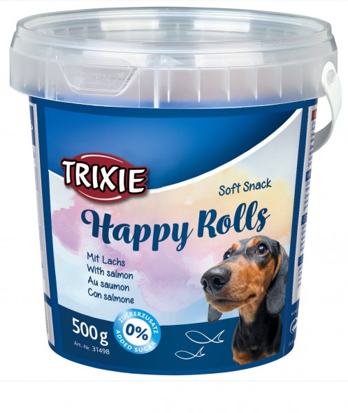 Trixie Soft Snack Happy Rolls 500g Eimer