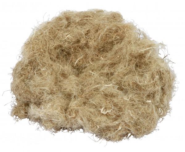 Hanfwolle aus 100% Hanf, 30g - Käfigzubehör, Behausung für Kleintiere