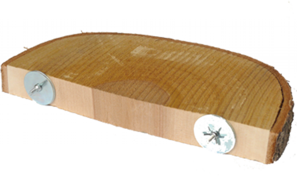 Nager Panorama Sitz - L, 27x3cm, Holzblock
