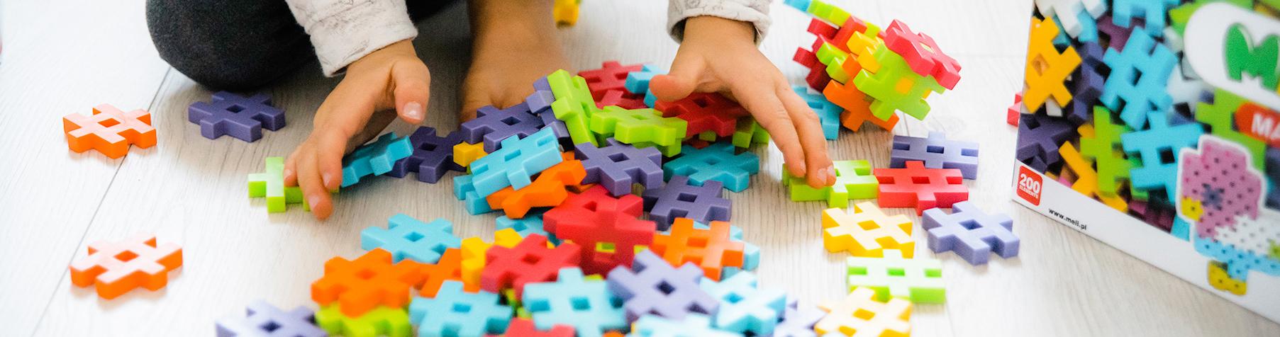 Meli Maxi - Kreativ-Bausteine, Spielzeug für Kinder