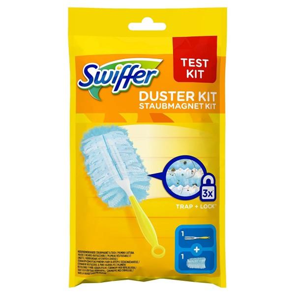 Swiffer Staubwischer - Staubmagnet Starterset, 1 Handgriff + 1 Tuch