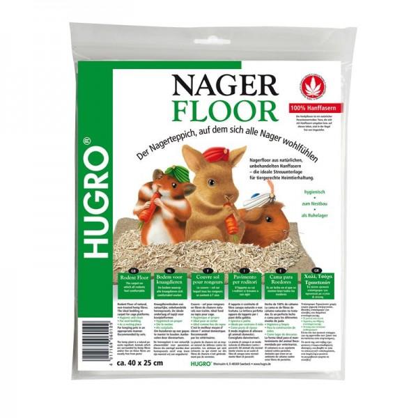 Hugro Nagerfloor Hanfmatte Maxi 40x100, Streuunterlage