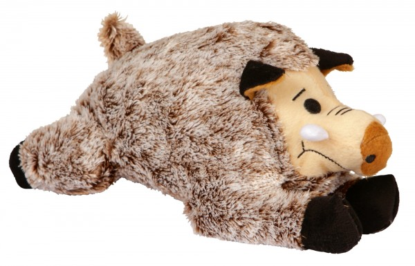 Trixie Plüschtier Wildschwein Hundespielzeug, 25 cm